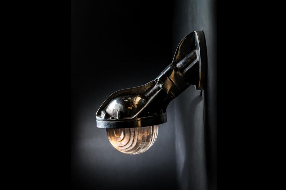 Steel Victor Uplighter/ Downlighter Wall Light