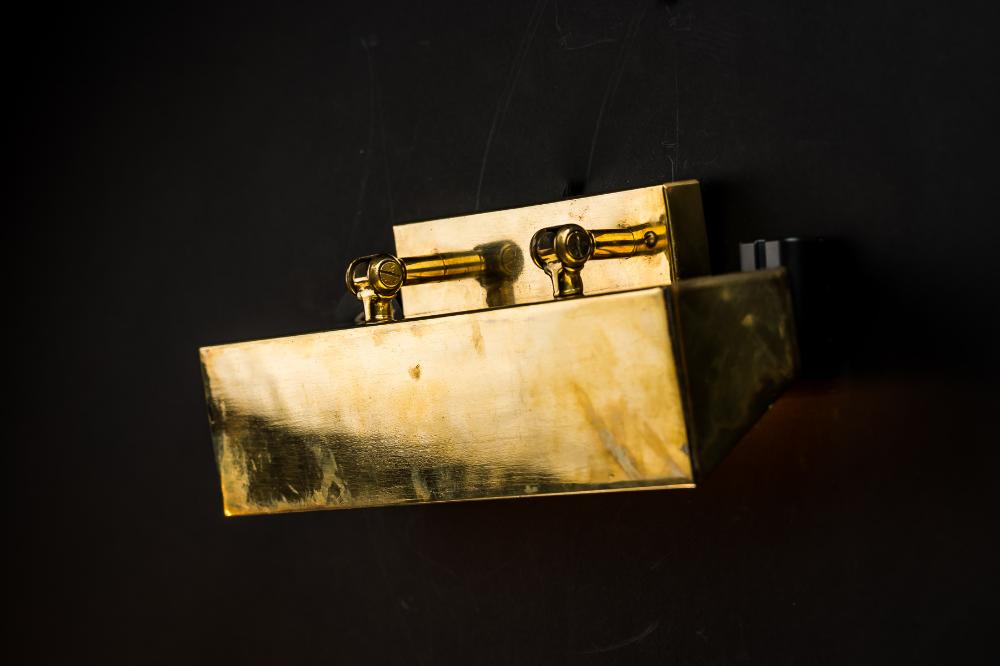 SS France Brass Wall Light