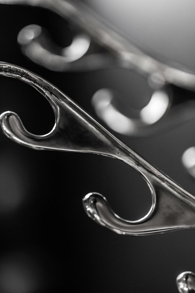 Savoy Hotel Polished Aluminium Antler Hooks 02.jpg