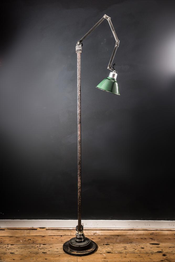 Floor Standing Machinist Lamp
