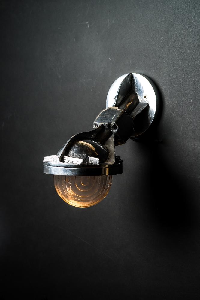 Steel Victor Uplighter: Downlighter Wall Light 03.jpg