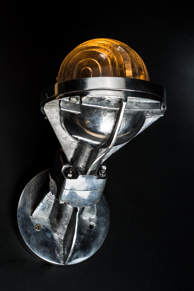 Steel Victor Uplighter: Downlighter Wall Light 01.jpg