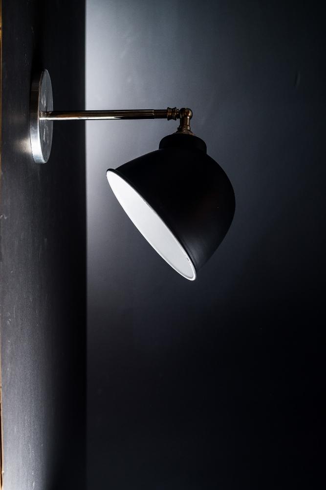 Original Black Enamel Wall Light 03.jpg