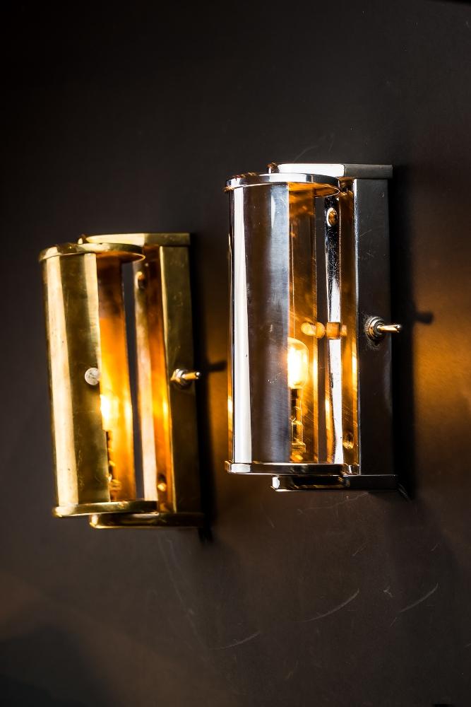 Aluminium and Brass Wall Light 01.jpg