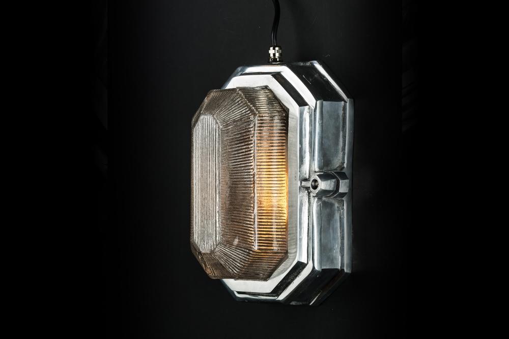 Hexagonal Aluminium Bulkhead Wall Light 03.jpg