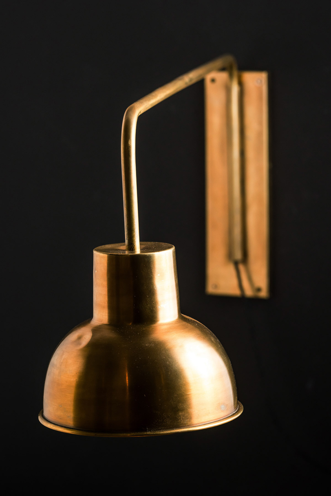 Brass Swing Arm Wall Light Felix, Brass Swing Arm Wall Lamp Uk