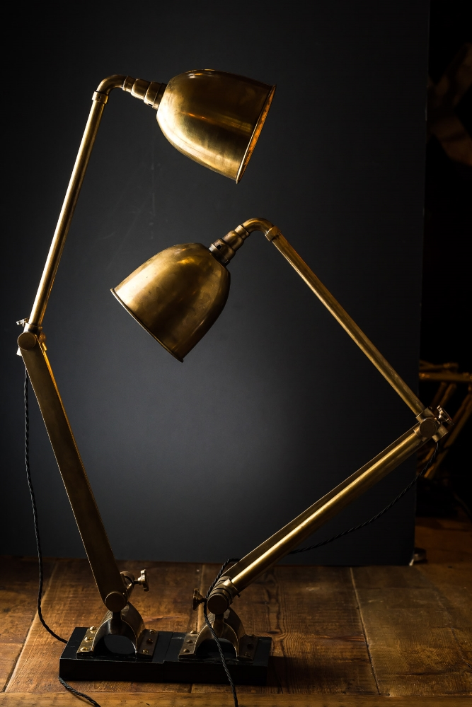 Vintage articulated brass floor lamp 02.jpg