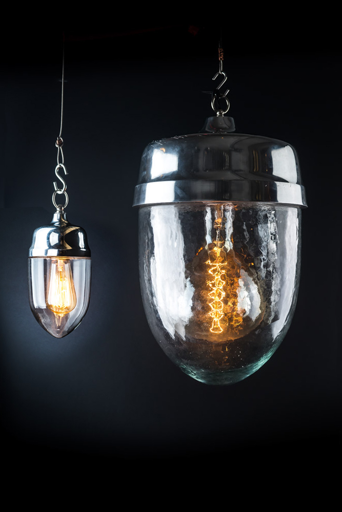 Felix Original XXL Aluminium and Glass Teardrop Pendant
