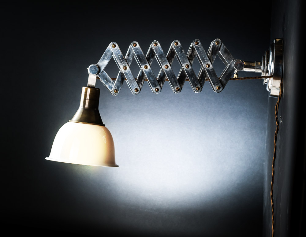 Barcelona Scissor Action Wall Light