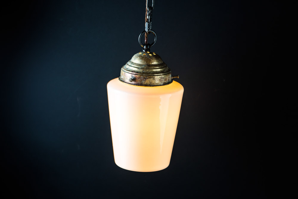 Felix Original bone china and aged brass pendant.jpg