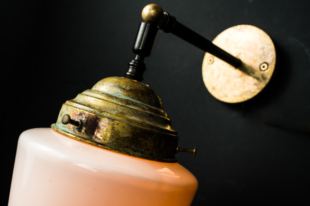 Felix Original bone china and aged brass wall light.jpg