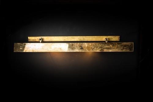 Metre long brass wall light.jpg