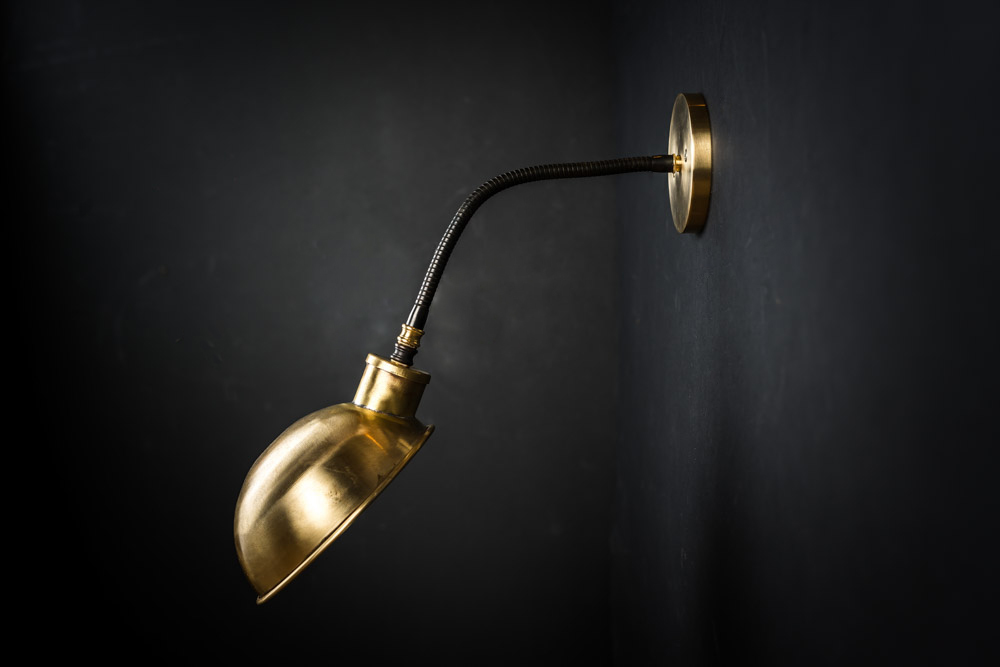 brass skullcap gooseneck wall light 08.jpg
