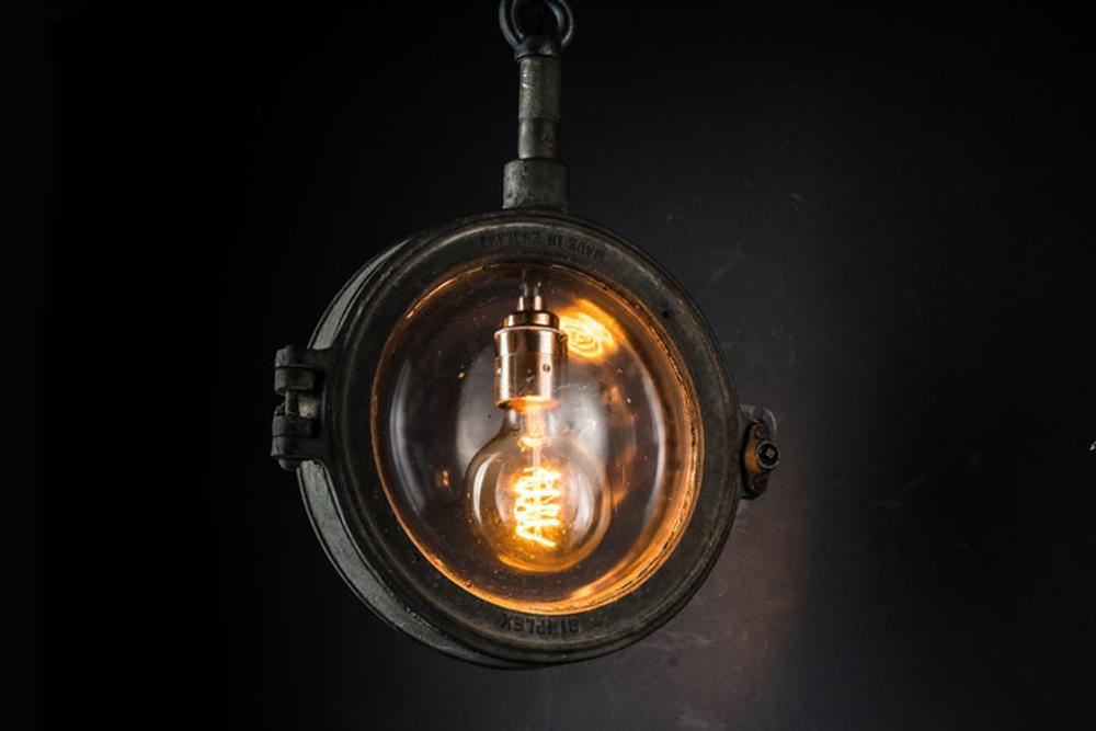 Rare Simplex cast iron and glass pendant 02.jpg
