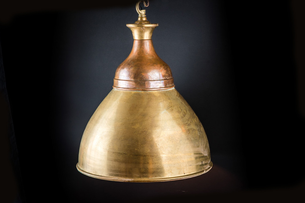 Aged brass and copper Benjamin pendant02.jpg