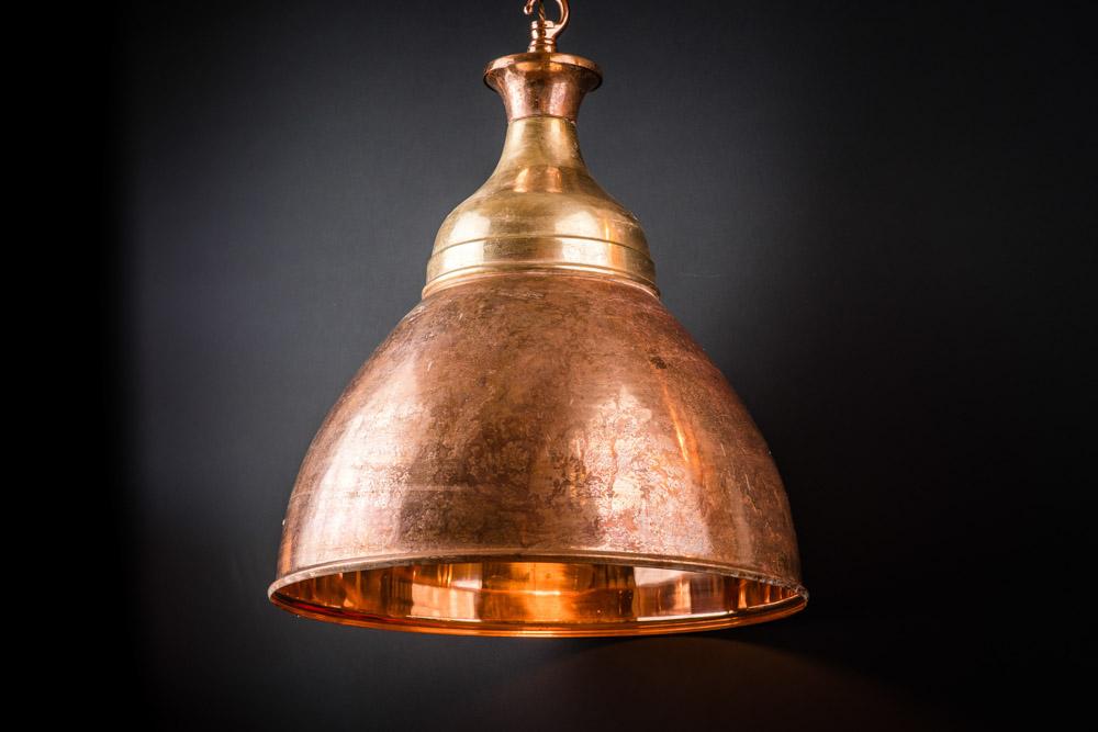 Felix Original Aged Copper and Brass Benjamin Pendant