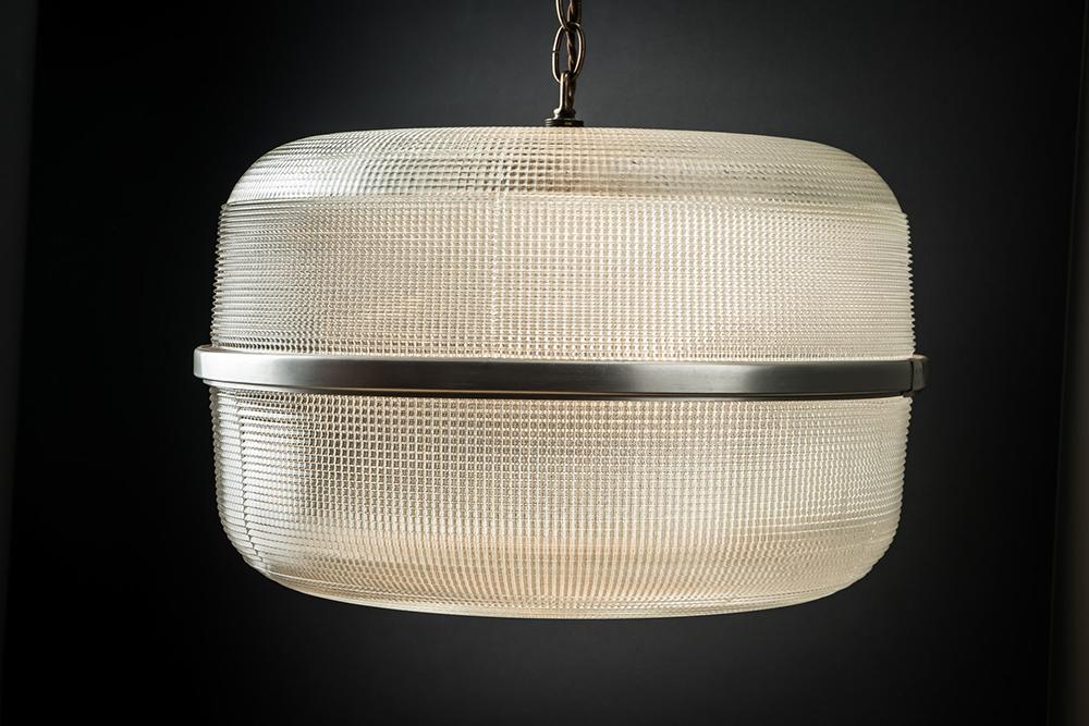 Vintage Holophane Foxley Pendant