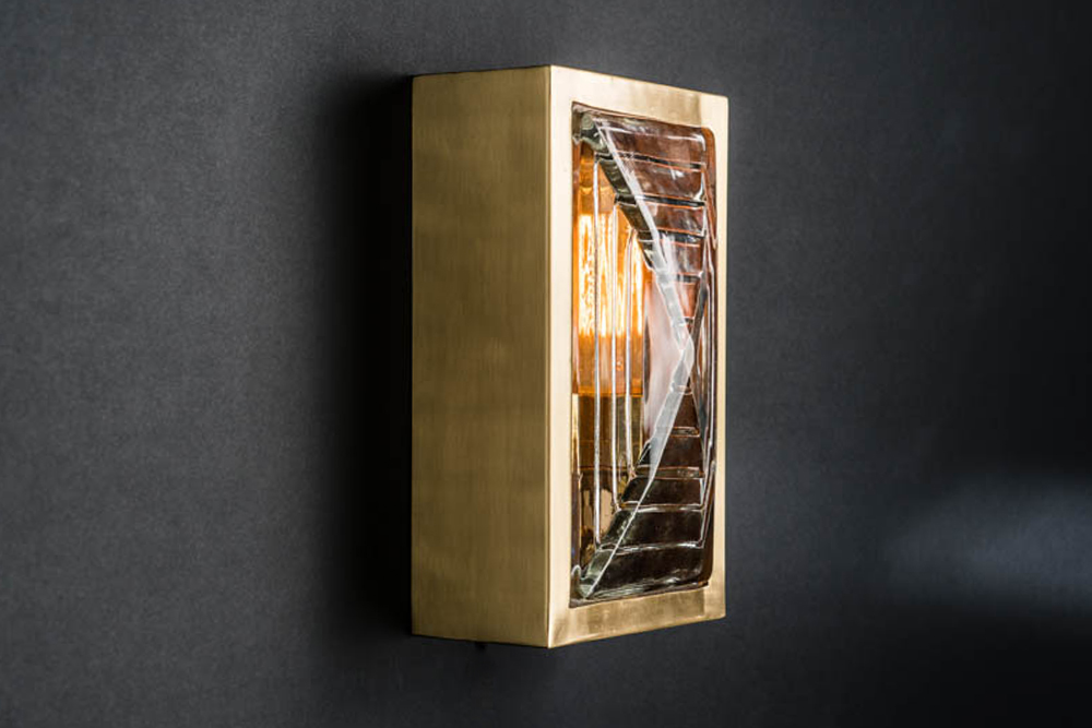 Rectangular brass and prismatic glass sconce 03.jpg