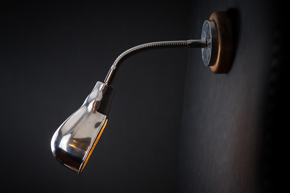Adjustable goosenecked nickel wall light 02.jpg