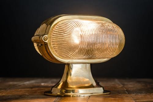 Henley brass and prismatic glass bar top light 02.jpg