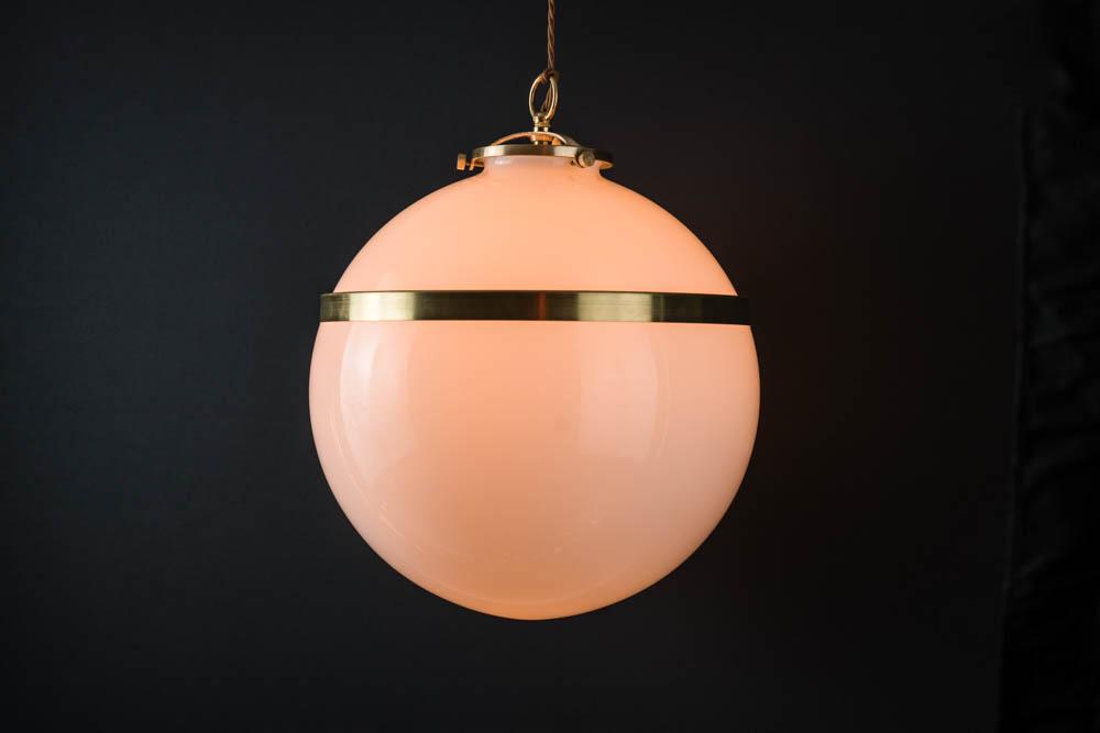 Brass banded opaline glass pendant 01.jpg