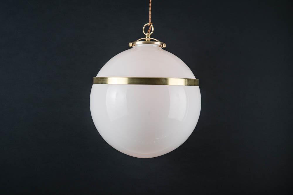 Brass banded opaline glass pendant 04.jpg