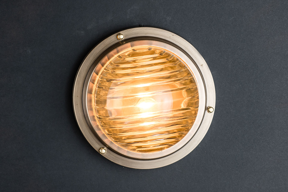 domed fresnel glass and brass passageway light 02.jpg