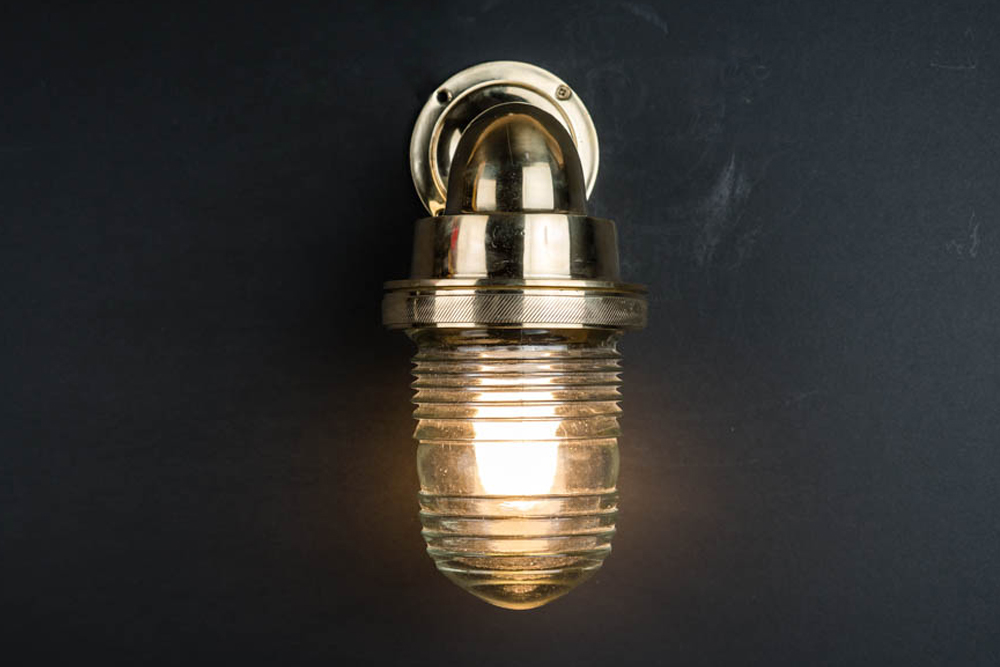 knurled brass and fresnel glass ships passageway light 01.jpg