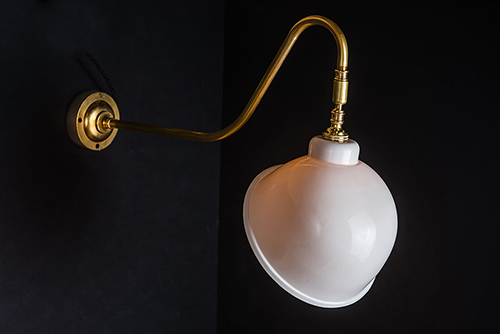 long armed brass and bone china wall light 02.jpg