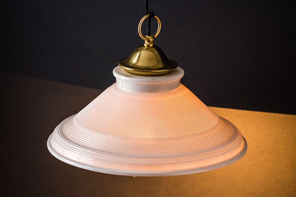 Brass and bone china holophane pendant 02.jpg