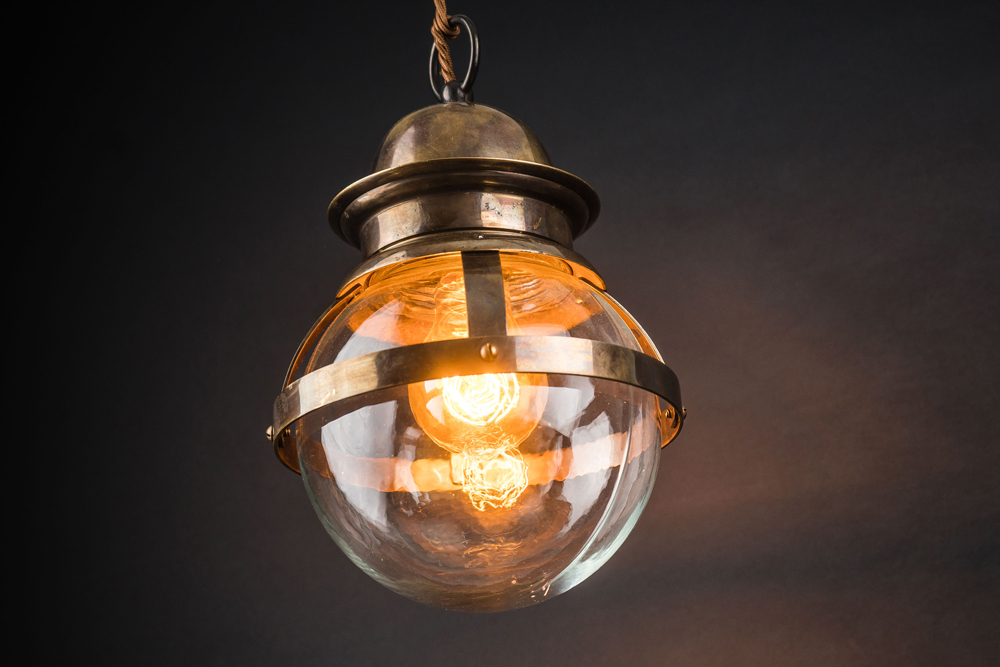 banded bronze and clear globe pendant 02.jpg