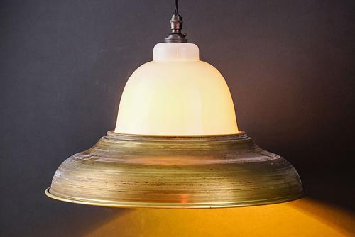 raw brass and bone china pendant.jpg