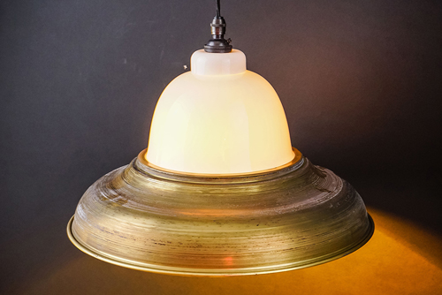 raw brass and bone china pendant 02.jpg
