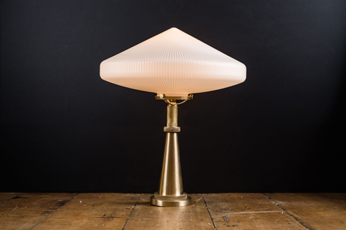 schoolhouse opaline holophane and solid brass bar top lamp .jpg