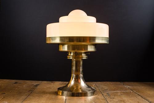 Tiered opaline glass and brass bar top lamp 01.jpg