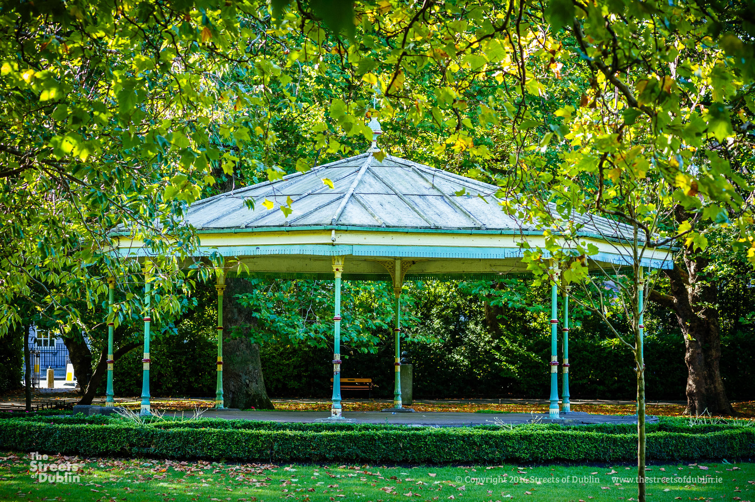 Band stand in St. Stephen's Green