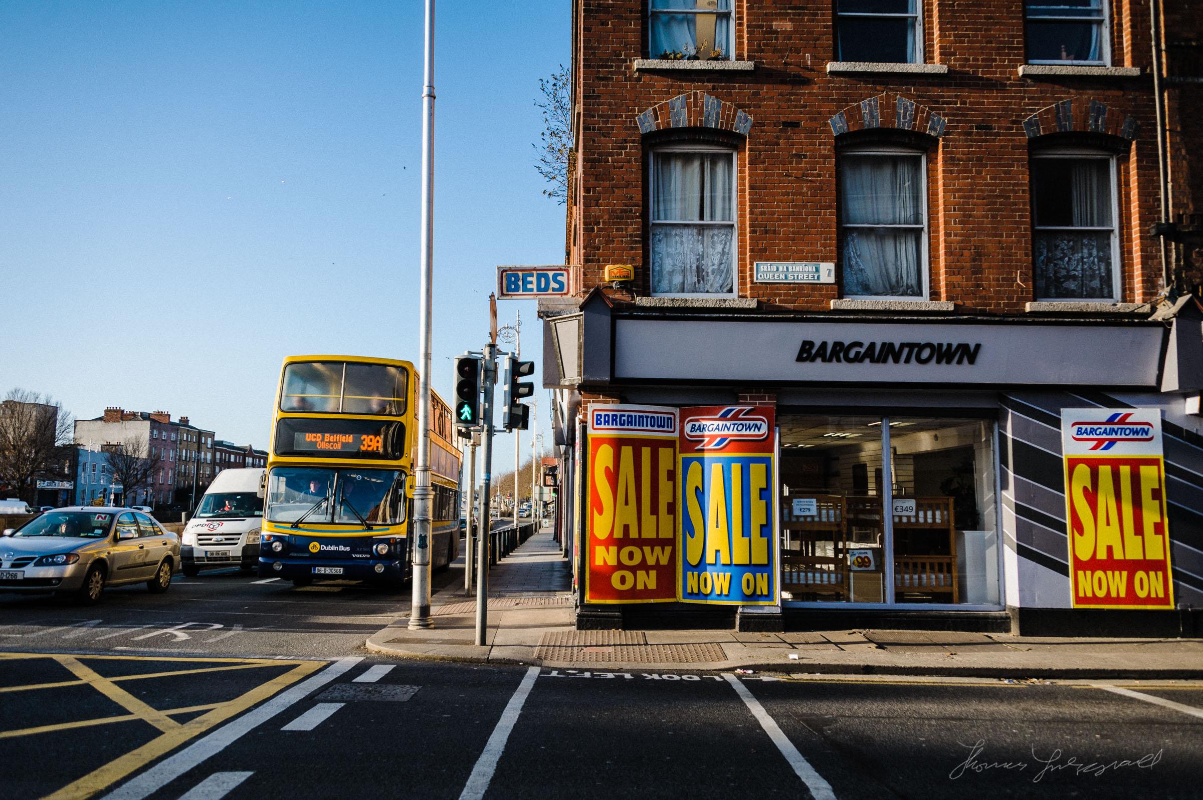 Bargintown on the Liffey - Dublin