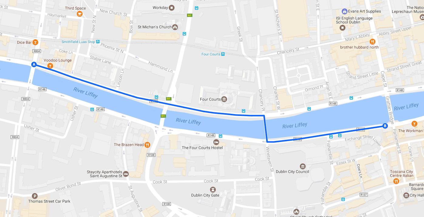 Map ©2016 Google