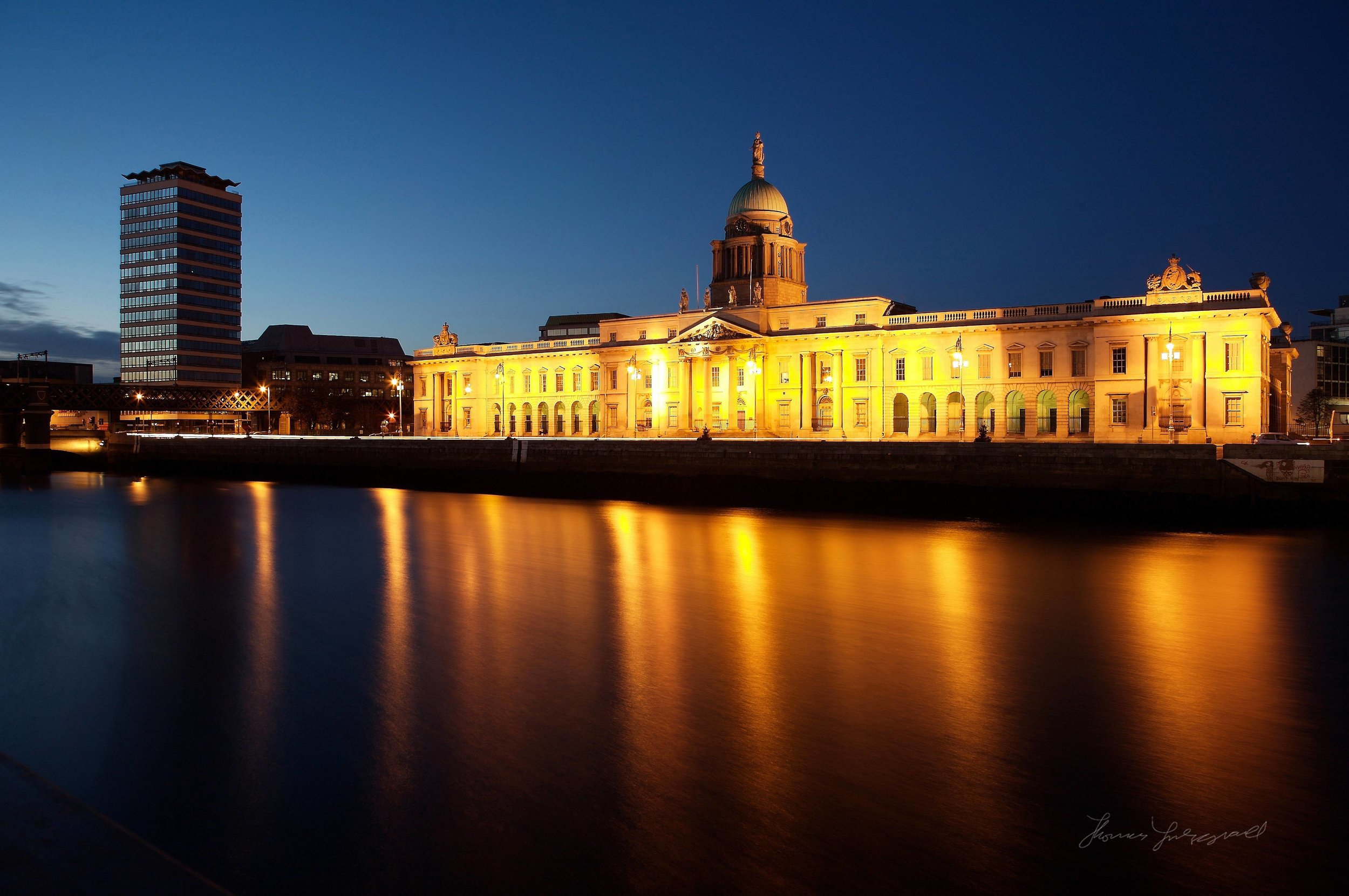 Dublin City Custom House