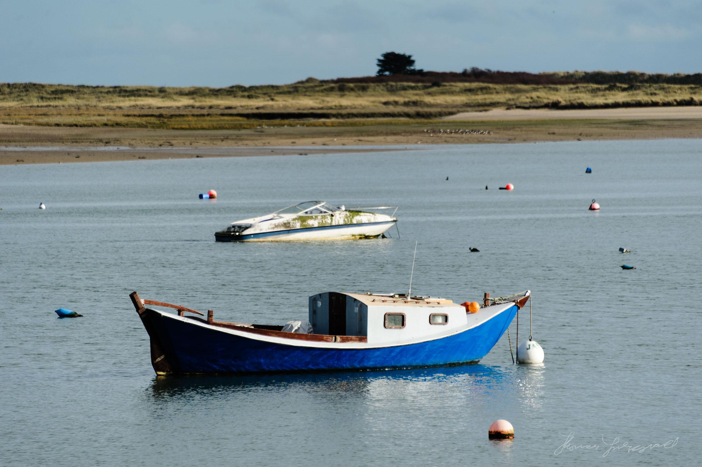 Harbour Boats in Malahide