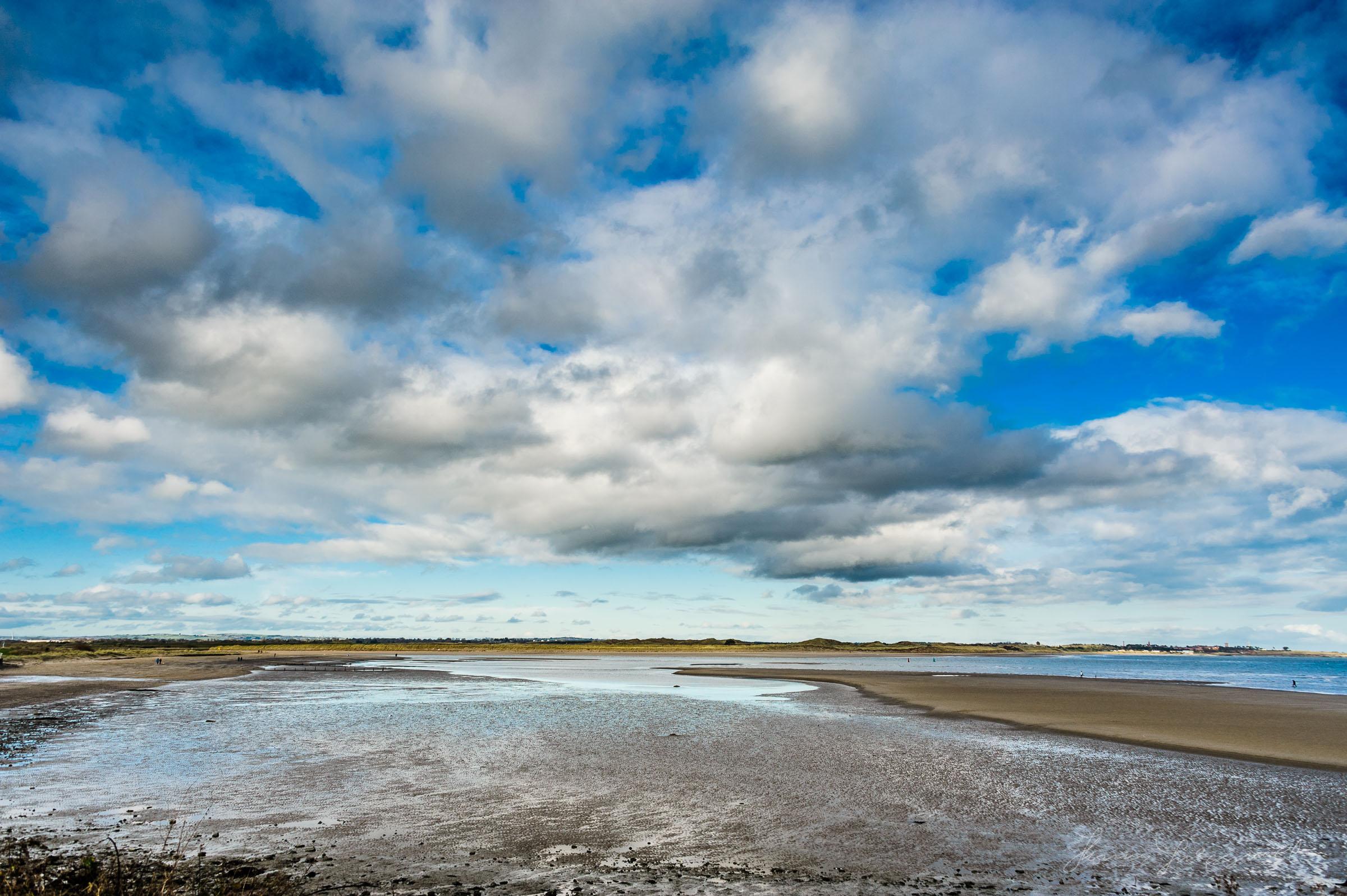 Moody Sky over Malahide Beach