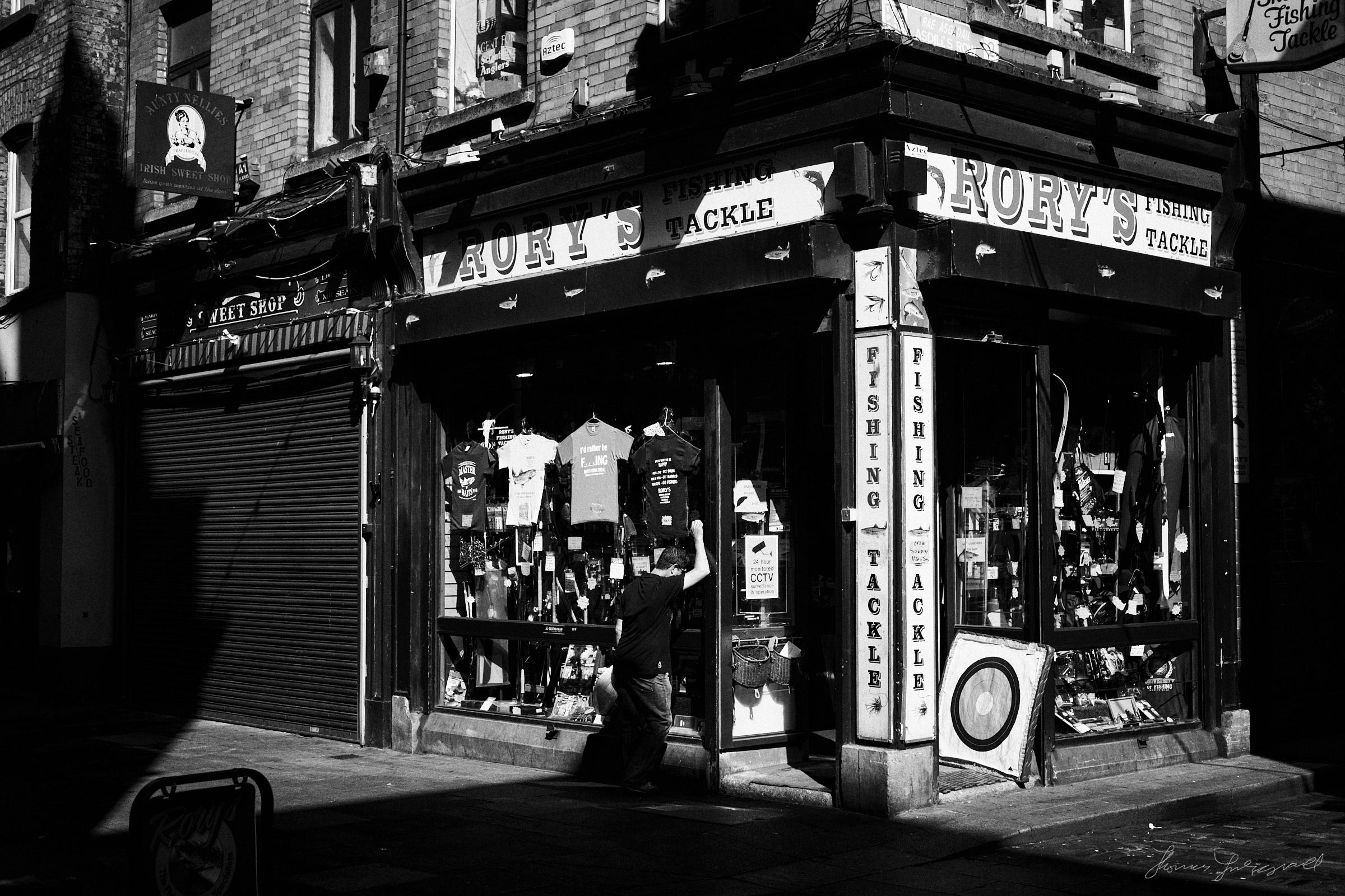 Rory's Fishing Tackle - The Streets of Dublin