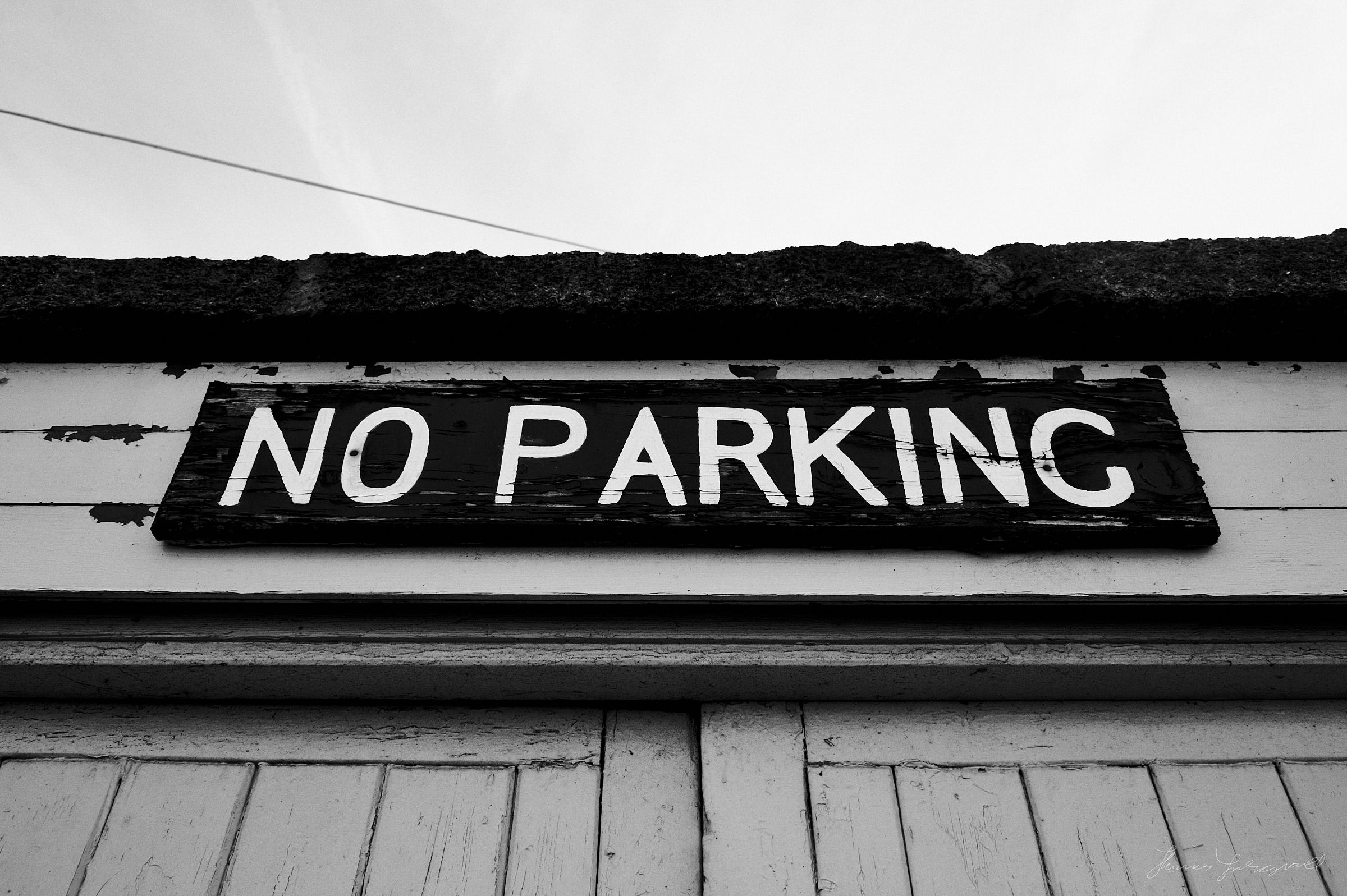 No Parking - The Streets of Dublin