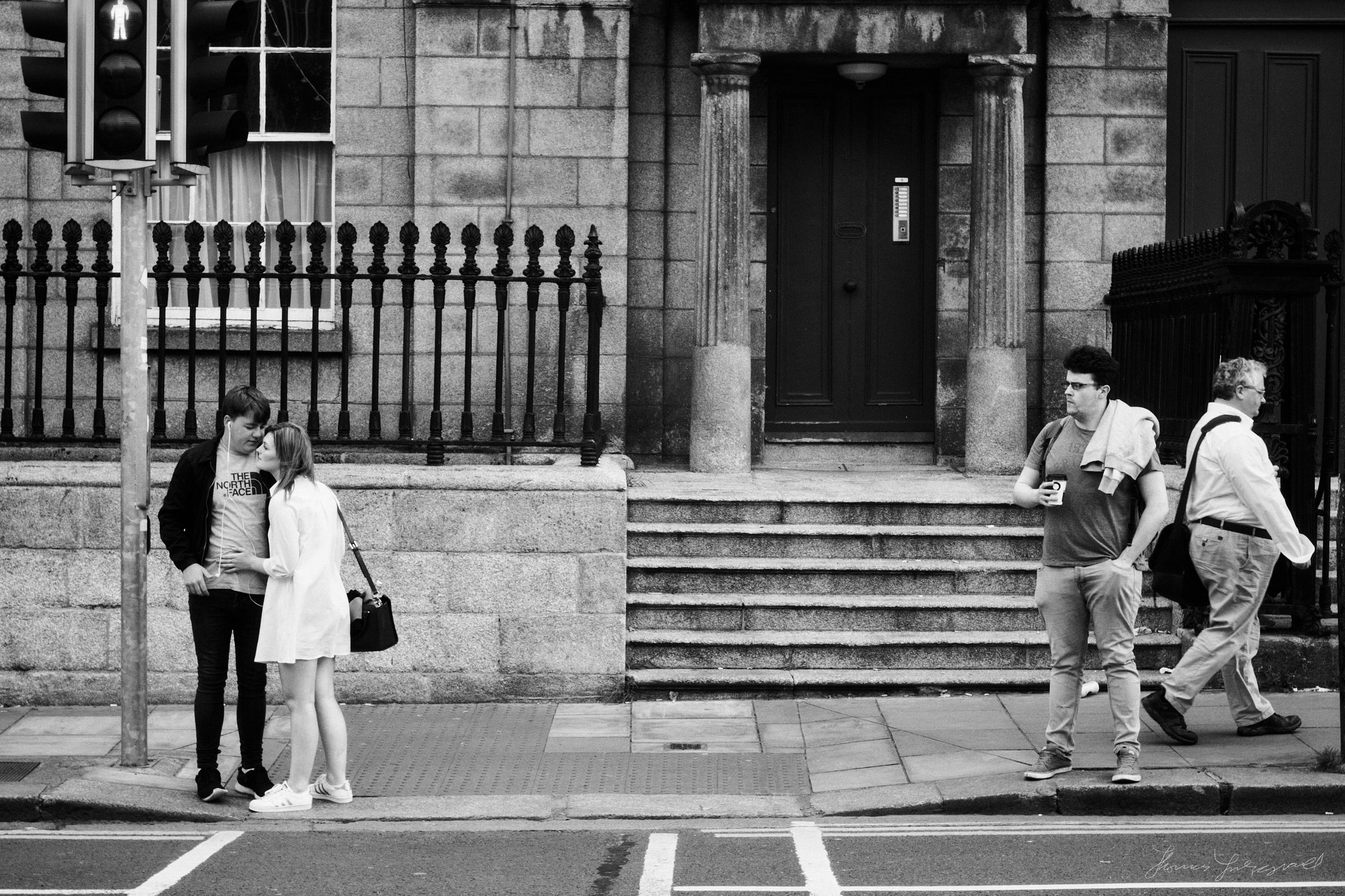 Waiting to Cross - The Streets of Dublin