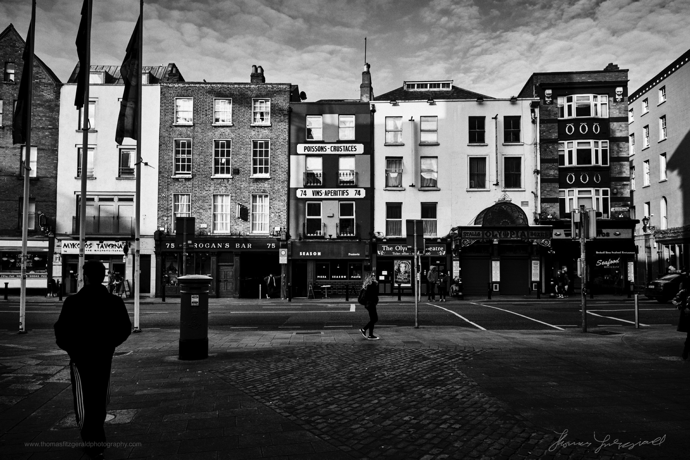Dame Street - The Streets of Dublin