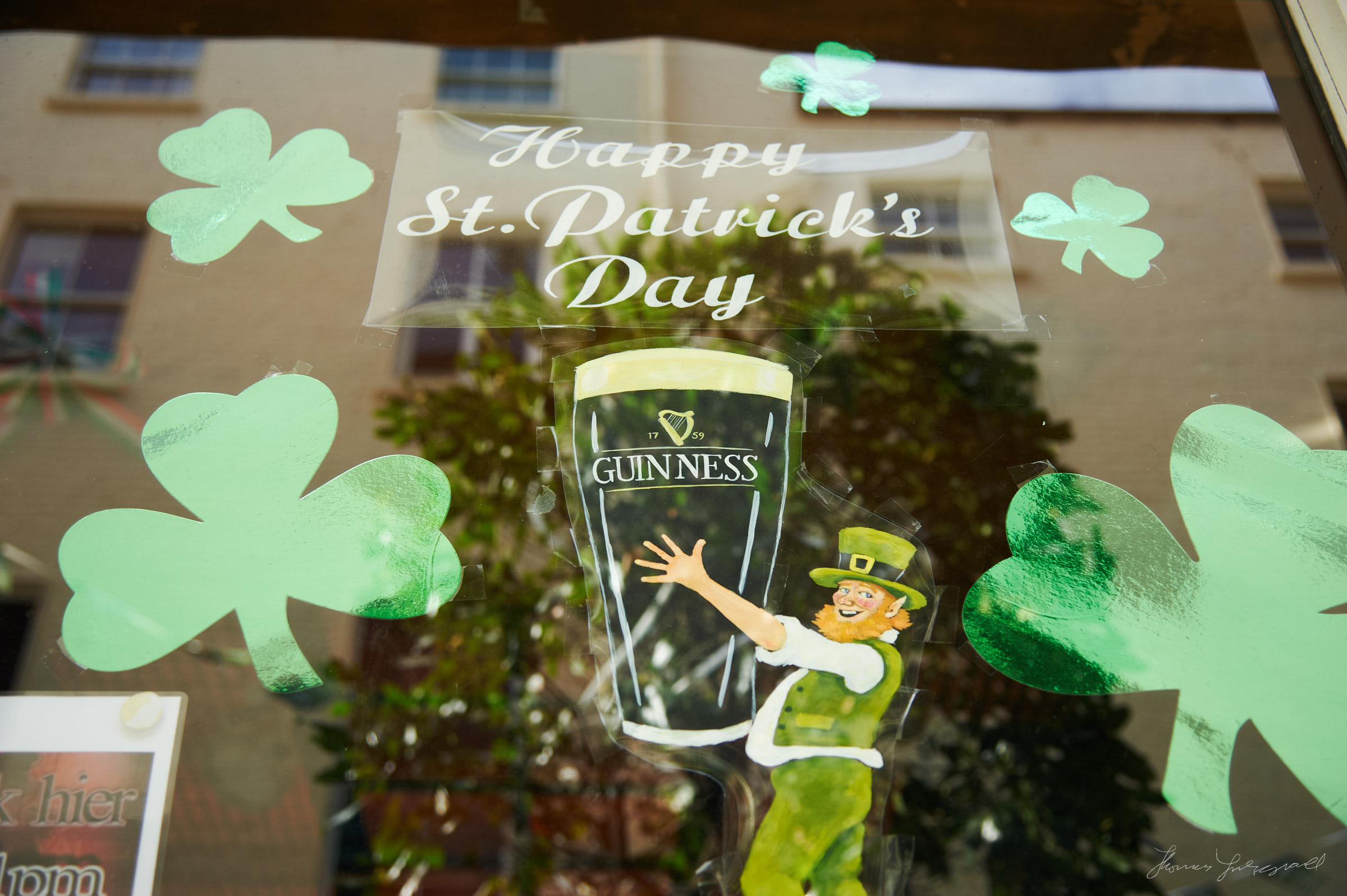 St. Patricks Day Decorations in Dublin City - The Streets of Dublin