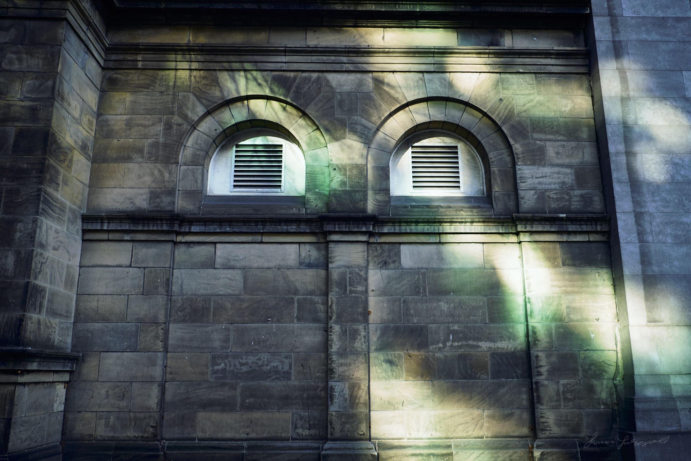 Autumn light in Dublin