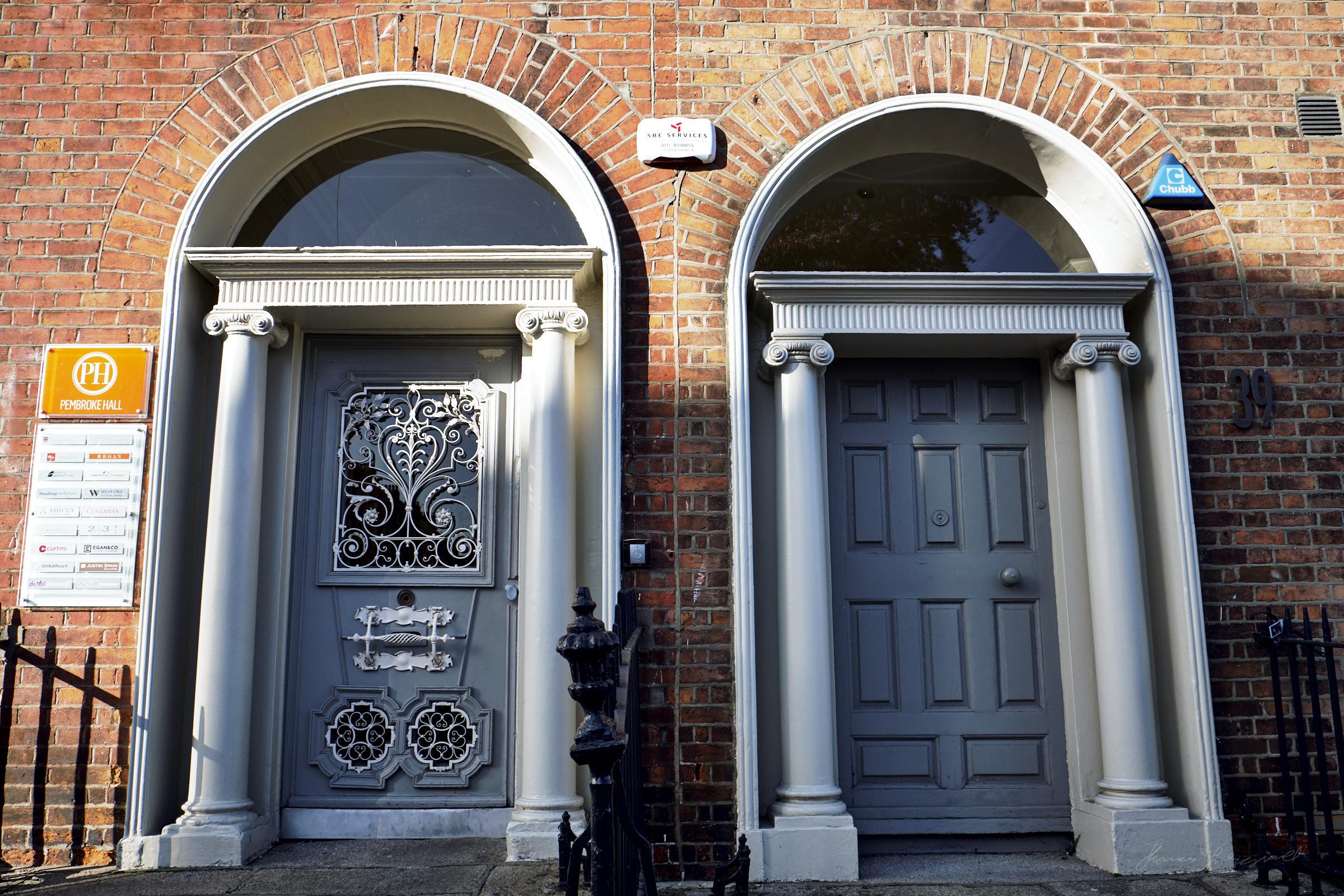 Ornate Doorways in Dublin