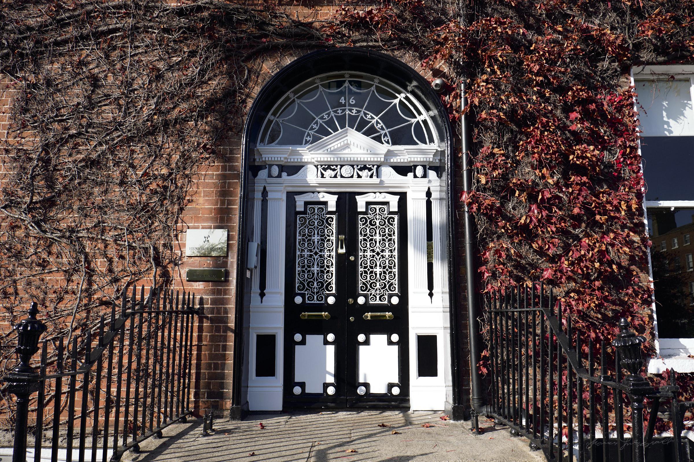 Ornate Doorway in Dublin City