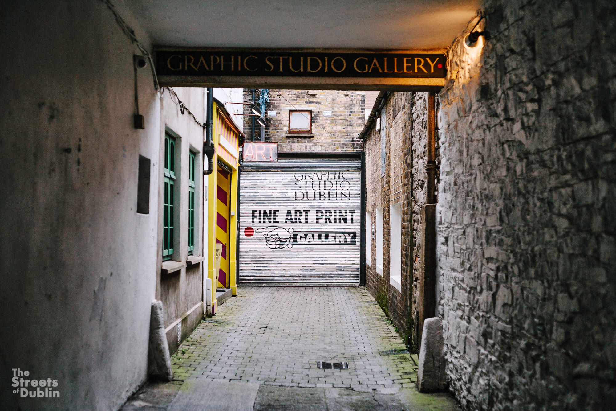 The Quiet Streets of Dublin City 17